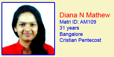 Diana N Mathew (AM-109